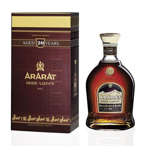 ARARAT NAIRI 20 Yo Brandy 40% 700ML
