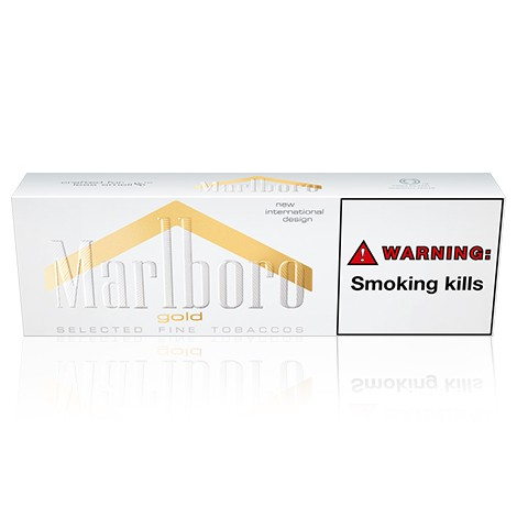 Marlboro Gold King Size Box 1 Carton In One Box