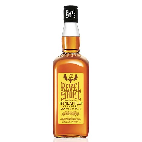 Revel StokeRoasted Pineapple Flavor Whisky 35% 1L