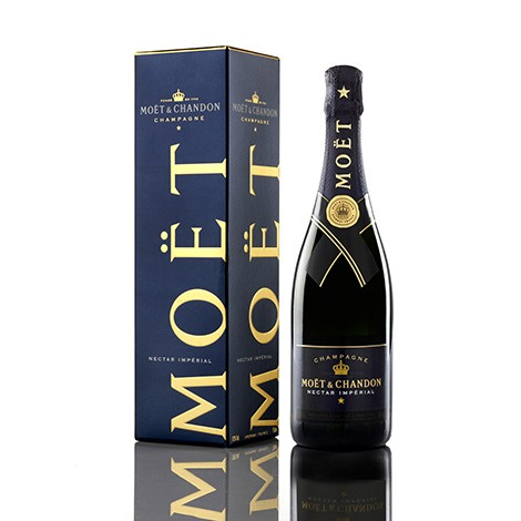MOET & CHANDON Nectar Imperial Champagne 12% 750ML