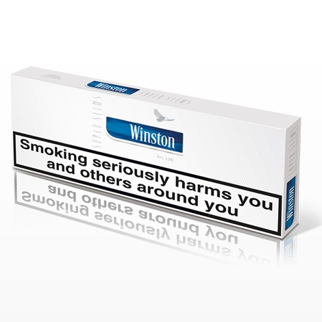 Winston Superslims Blue King Size Box 1 Carton In One Box