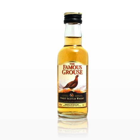 FAMOUS GROUSE Scotch Whisky Miniatures Finest 40% 50 ML
