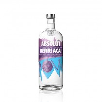 Absolut Berri Acai Vodka 1 Liter