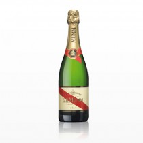 J.H MUMM Cordon Rouge White Champagne 12% 750ML